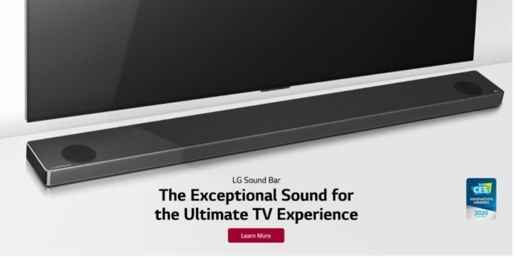 Produits sonores de LG : la technologie Meridian dans les barres de son et les enceintes portables XBOOM Go offre une expérience audio de qualité époustouflante.